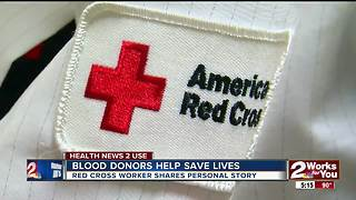 Blood donors helping to save lives - Video