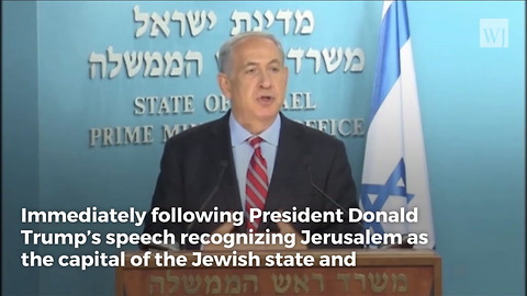 Trump Officially Makes Israel Decision, Netanyahu Immediately Sends Him a Message