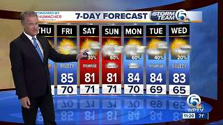 Latest South Florida forecast from Storm Team 5 - Video
