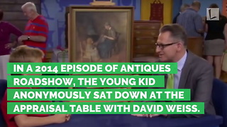 Little Boy Buys Painting for $2. Jaw Drops When Told Worth on 'Antiques Roadshow' - Video