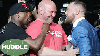Does Conor McGregor Stand a Chance Against Floyd Mayweather? -The Huddle - Video