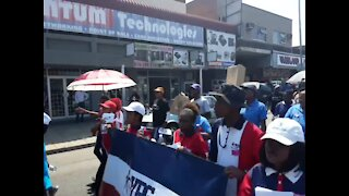 Rustenburg denounces violence against women (D7B)