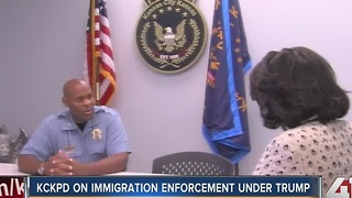 KCKPD on immigration enforcement under Trump - Video