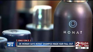 Local woman says she lost hair while using Monat - Video