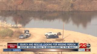 Search underway for man missing in Kern River since June
