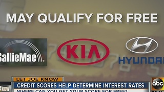 Is there a safe way to get your credit score for free? - Video