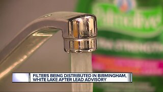 Filters being distributed in Birmingham, White Lake after lead advisory