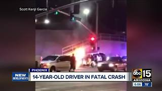 14-year-old driver involved in fatal crash - Video