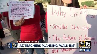 Arizona teachers asking for community support in fight for higher wages - Video