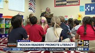 'Rockin' Readers' program promotes early literacy, leadership - Video