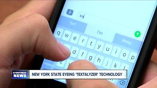How would the 'textalyzer' work in New York State? - Video