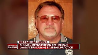 Gunman opens fire on Republican lawmakers during baseball practice - Video