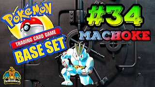Pokemon Base Set #34 Machoke | Card Vault