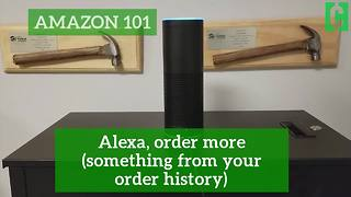 Amazon 101: How to reorder an item with Alexa - Video