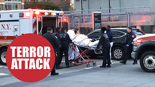 New York terror attack kills 8 people - Video