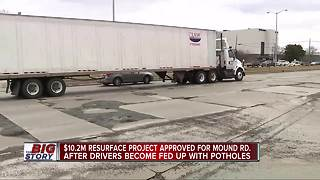 Macomb County announces $10.2 million Mound Road resurfacing project - Video