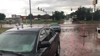 Aftermath of Oklahoma City flash floods captured on video