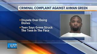 Former Packers running back Ahman Green facing child abuse charges
