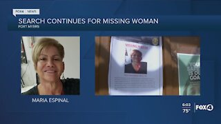 Police continue search fir missing woman