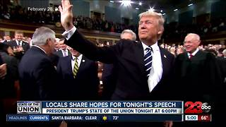 Locals share hopes for State of the Union address - Video
