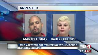 Two Arrested for Tampering with Evidence - Video