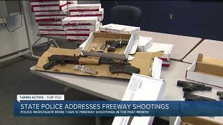 State police address freeway shootings