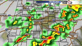 Severe storm potential Tuesday