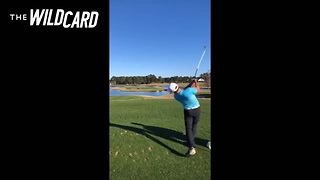 Watch: No-handed Golfer Sinks Perfect Hole-in-one