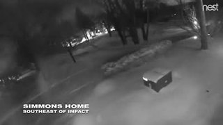 Meteor from Steven Simmons home in Oakland Township - Video