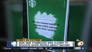 Offensive Starbucks sign?