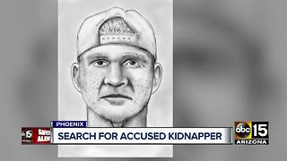Phoenix police searching for kidnapping suspect