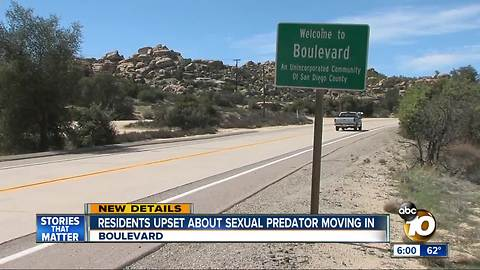 Residents upset sexual predator moving in