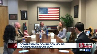 Rep. Bacon holds roundtable discussion