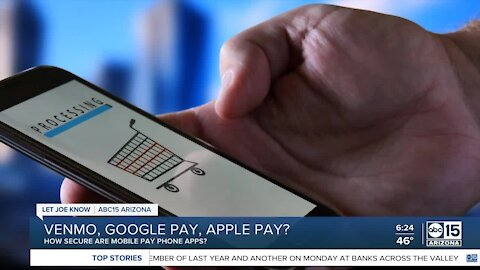 How secure are mobile pay apps?