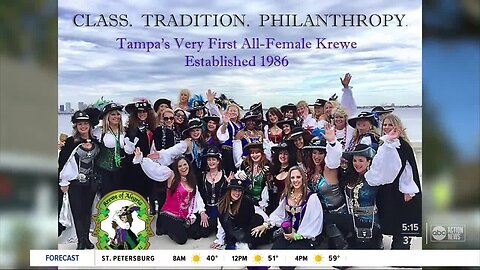 First all-female Gasparilla Krewe sets sights on new goals for 2020