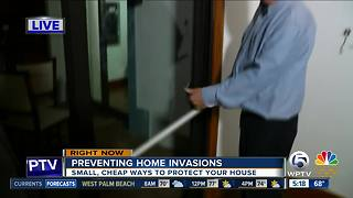 Tips on how you can prevent a home invasion - Video