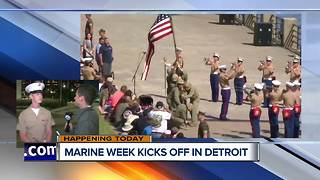 Marine Week Detroit showcases the Marines with multiple events - Video
