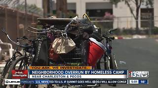 Neighbors say homelessness is driving them crazy - Video