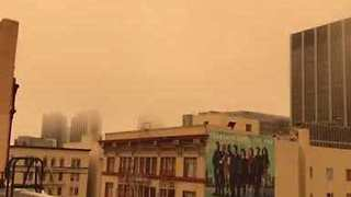 Air Quality Warning Issued as Wildfire Smoke Reaches San Francisco - Video
