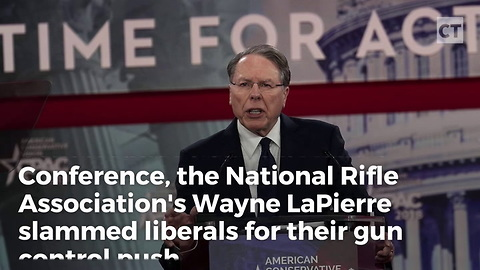 NRA Leader Smacks Down Democrats In CPAC Speech