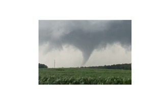Tornado Touches Down in Southern Indiana - Video
