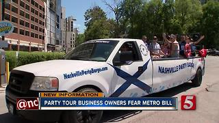 Party Tour Owners Fear Closure From New Law - Video