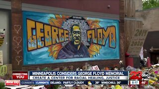 Minneapolis considers George Floyd memorial
