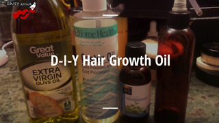 How to make your own hair growth oil - Video