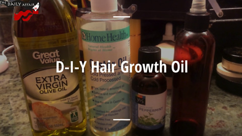 How to make your own hair growth oil
