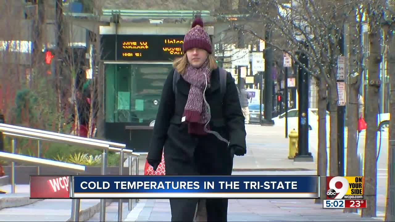 Cold Temperatures impact the Tri-State