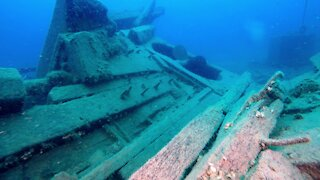 Crystal clear waters of Canada's Great Lakes hold mysterious shipwrecks