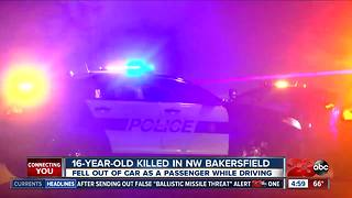 16-Year-Old Killed in Northwest Bakersfield Accident - Video