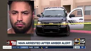 Father arrested after Amber Alert out of Peoria