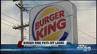 Burger King will pay your student loan debt